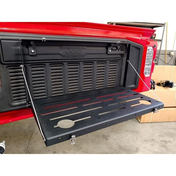 Jeep JL Tailgate Mounted Trail Table8 Pres Wrangler JL 1