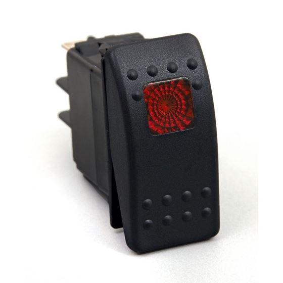 Rocker Switch Red Light 20 AMP Single Pole 1