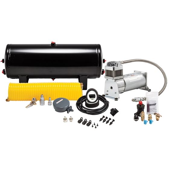 24Volt 150 Psi Heavy Duty Sealed Air System With Compressor 3 Gallon Tank And Hardware 6354 1