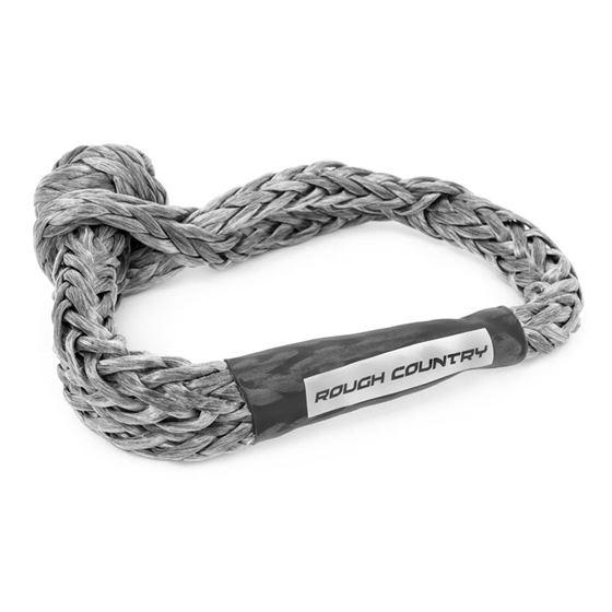 Soft Shackle Rope 716 Inch Diameter 34000 LB Breaking Strength Gray 1