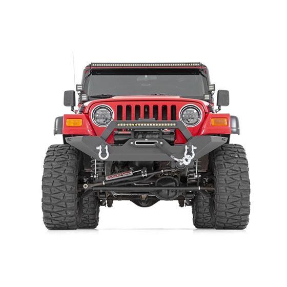 Jeep Full Width Front LED Winch Bumper 8706 Wrangler YJTJ 1