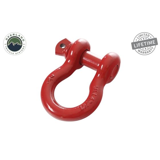 Recovery Shackle 34 475 Ton  Red 1