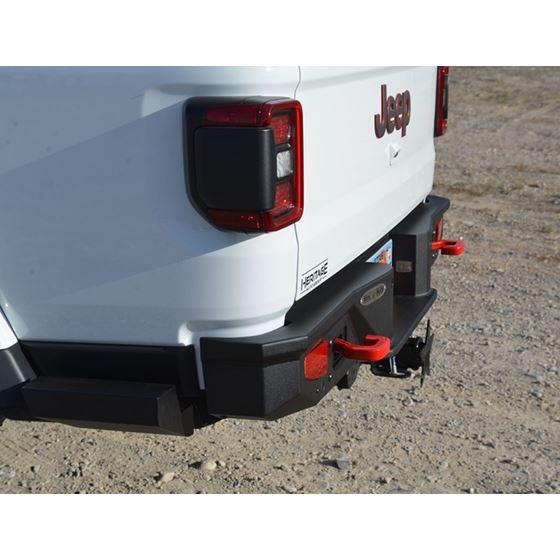 Gladiator Full Rear Bumper For 20Pres Jeep Gladiator No Tire Carrier Rigid Series 3