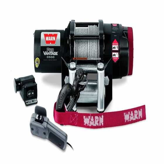 12 Volt Dc 3500 Lb 50 Ft Wire Rope Winch 1