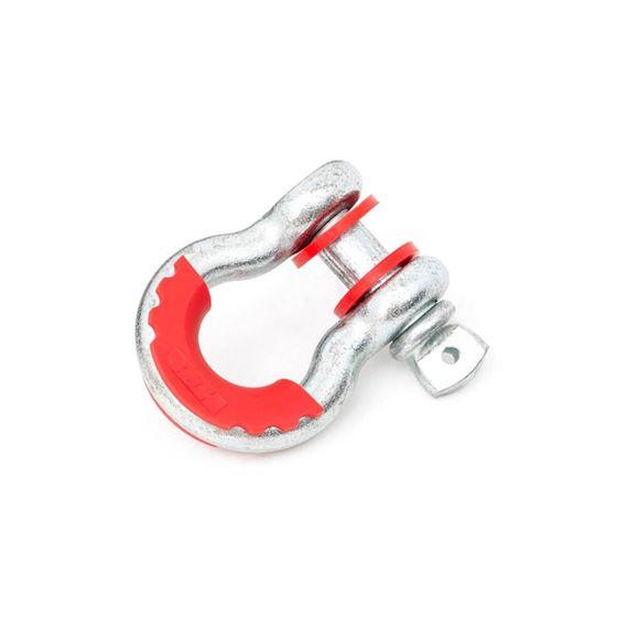 DRing Isolators  Logo Polyurethane Red Pair 1