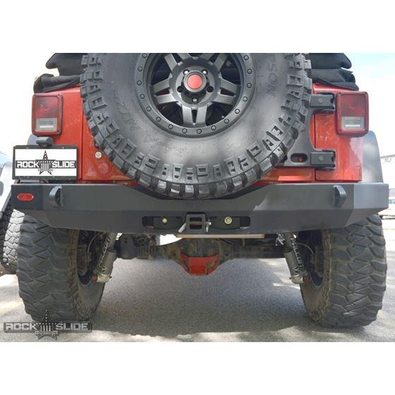 Jeep JK Full Rear Bumper For 0718 Wrangler JK No Tire Carrier Rigid Series 1