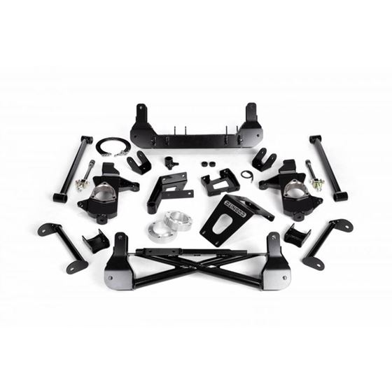 Cognito 79 Front Suspension Lift Kit for OE Stamped Steel and Aluminum ArmsStabiliTrak GM 1
