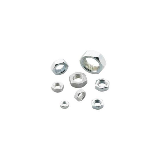 SJNR08 INCH SERIES Steel Right Jam Nut 1220 Thread 34 Hex 1