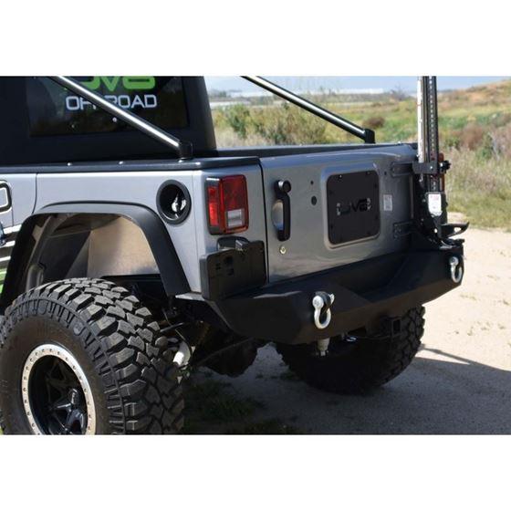 Jeep JK Rear Bumper 078 Wrangler JK Steel Mid Length 4