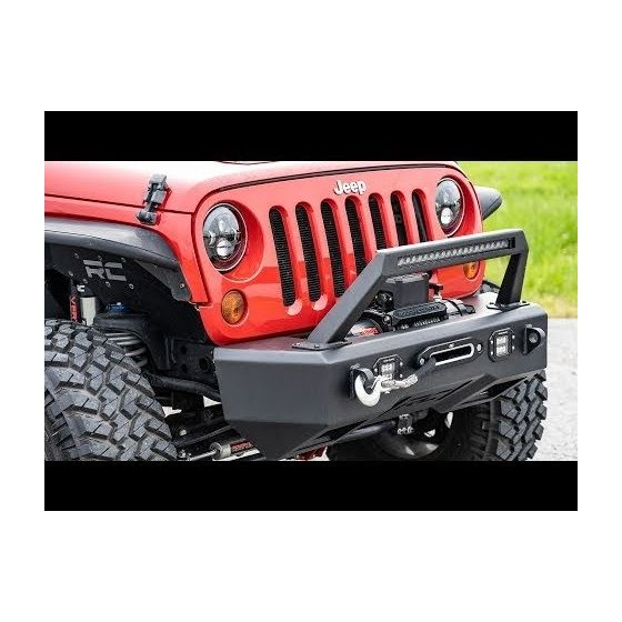 Jeep 7 Inch LED Projection Headlights Wrangler TJ JK 1