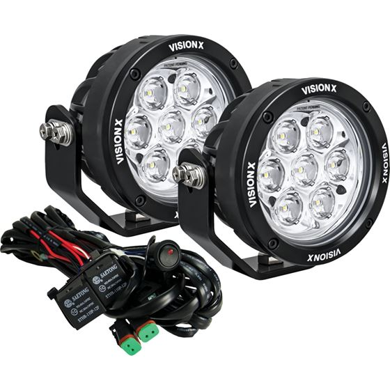 Pair Of 47 7 Led Cg2 Light Cannons Including Harness Using Dt Connectors 1