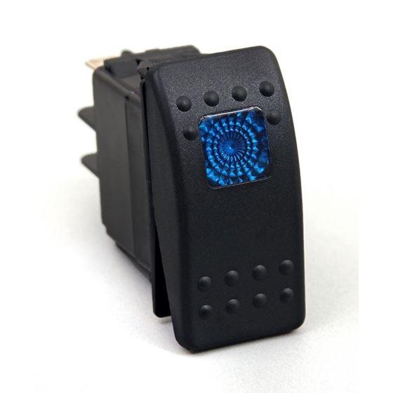 Rocker Switch Blue Light 20 AMP Single Pole 1