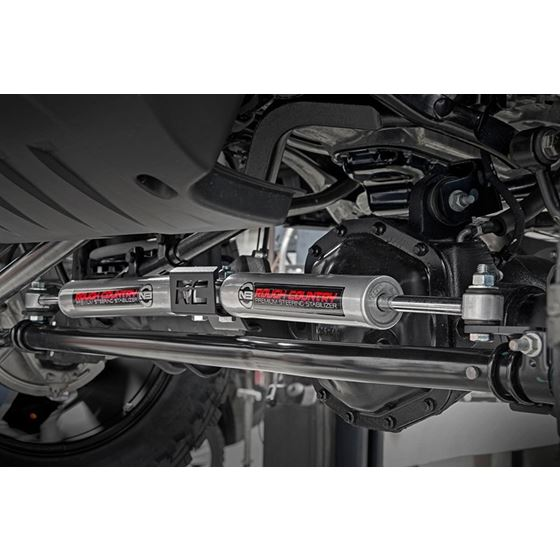 Jeep N3 Dual Steering Stabilizer 18-20 Wrangler JL Gladiator JT Rough Country 3