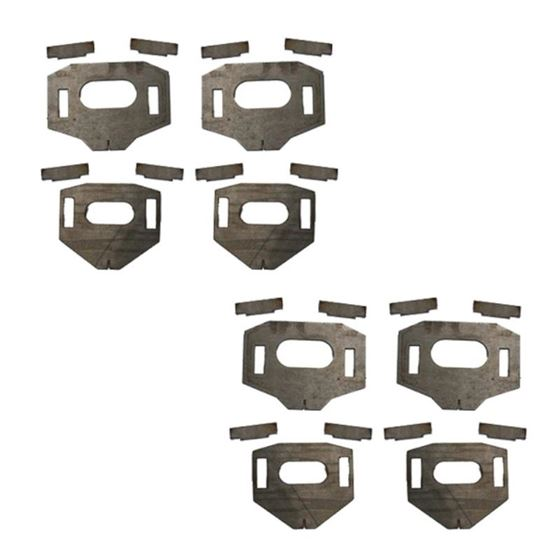 Lower Control Arm Cam Tab Gussets 1