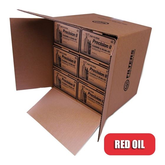 Cleaning & Oil Kit (Red Oil) 6Pk 88-0013