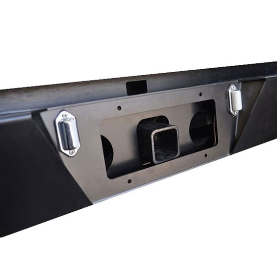 0515 Toyota Tacoma Reciever Hitch for 2205T Rear Bumpers Black Powdercoat 3