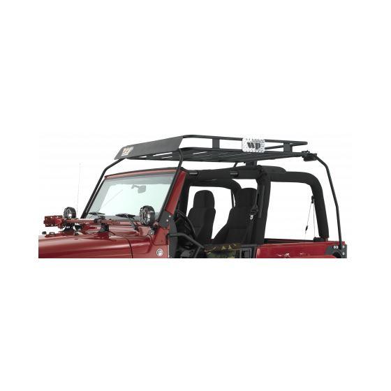 Jeep CJ/YJ Safari Roof Rack 1